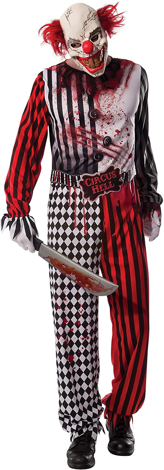 Rubie's Men's Evil Clown Costume