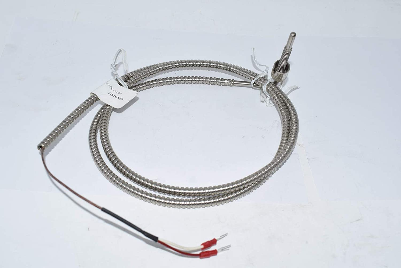 PLASTIC PROCESS EQUIPMENT Probe THERMOCOUPLE TC-190-48