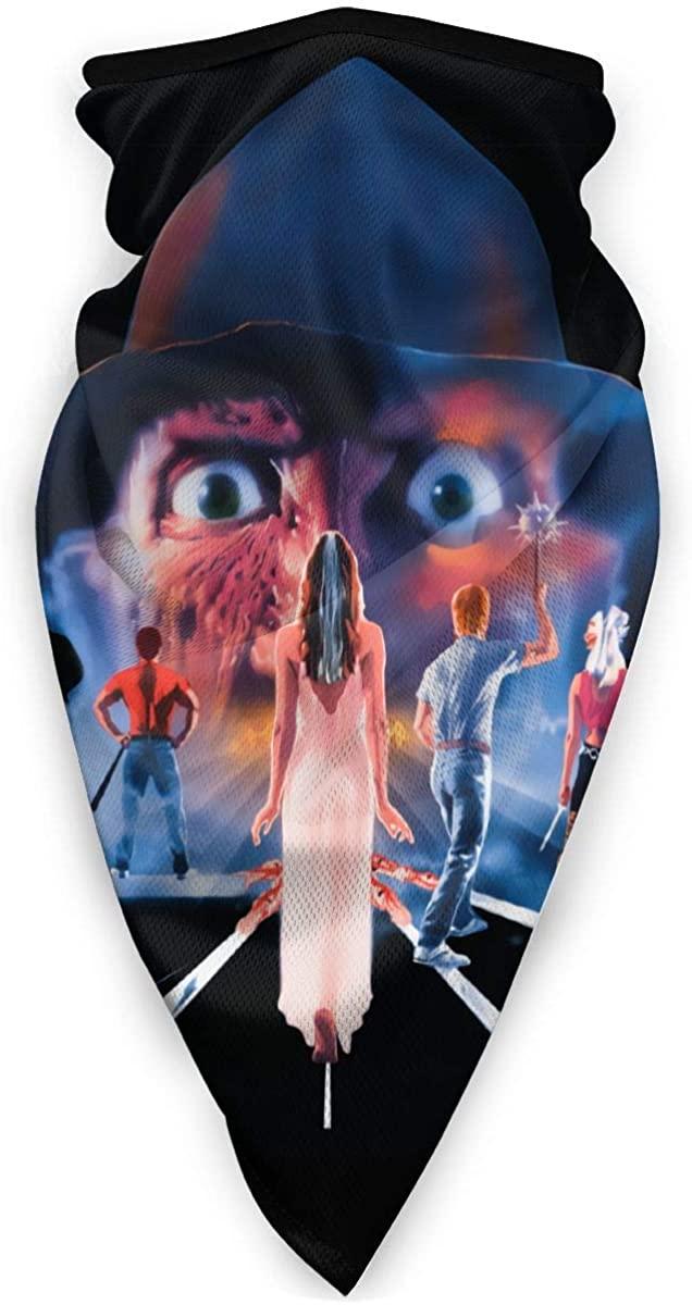 A Nightmare On Elm Street Bandana Mouth Cover Bandanas Headwear For Dust Sports Summer Breathable UV Sun Neck Gaiter Tube Outdoors