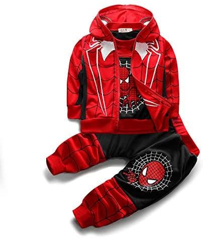 3pcs/Set Baby Clothing Coat+ T-Shirt+Patchwork Pants Sets
