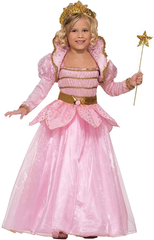 Forum Novelties Little Pink Princess Costume, Child Large