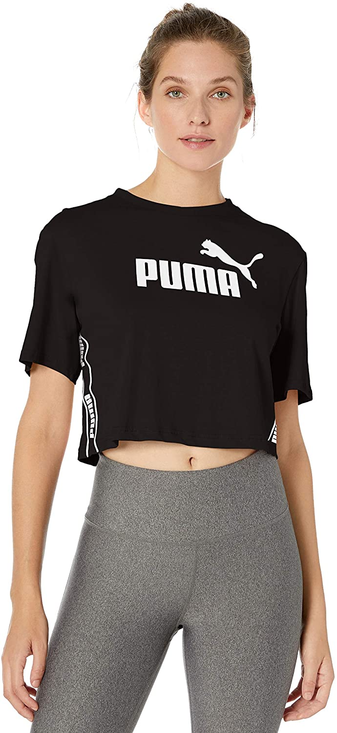 PUMA Women's Amplified Cropped Tee