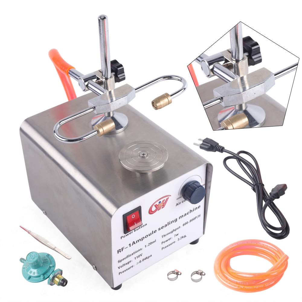 Ampoule Sealing Machine, Laboratory Ampoule Sealing Machine Manual Ampoule Sealer Amber Vial Sealing