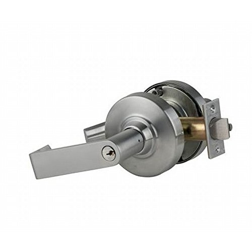 Schlage Commercial ND70RHO626EE212 ND Series Grade 1 Cylindrical Lock, Classroom Function, Rhodes Lever Design, Satin Chrome Finish