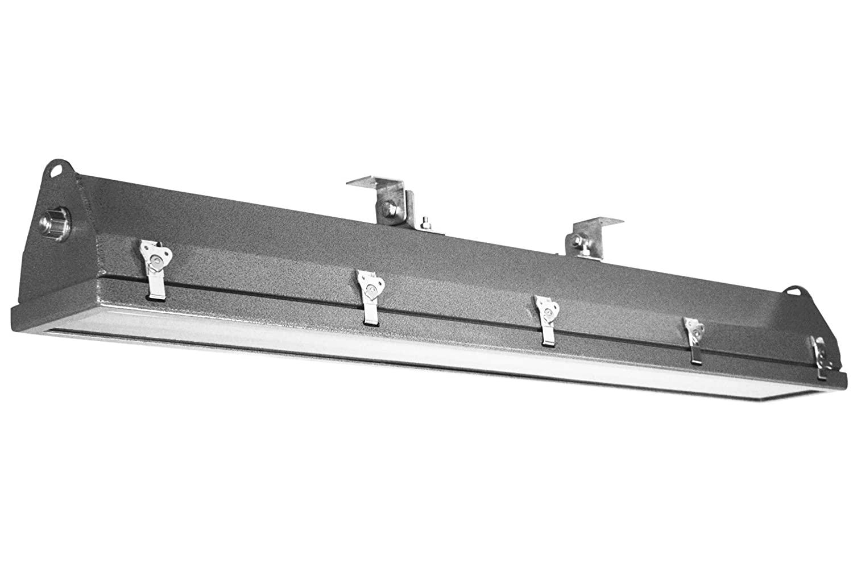 56W Hazardous Location Aluminum LED Light - 6720 Lumens - Factory Installed Terminal Strips - C1D1