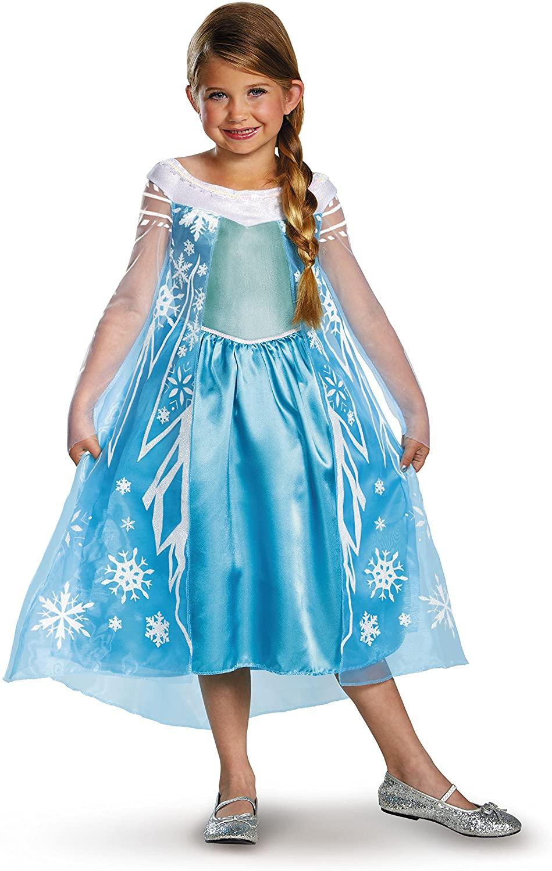 Disney's Frozen Elsa Deluxe Girl's Costume, 7-8