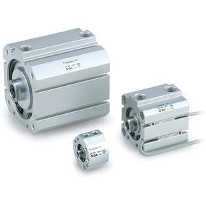 SMC NCDQ8B200-150 actuator - ncq8 compact cylinder family 2