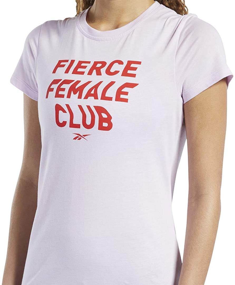 Reebok Womens Training Essentials Graphic Tee Fierce