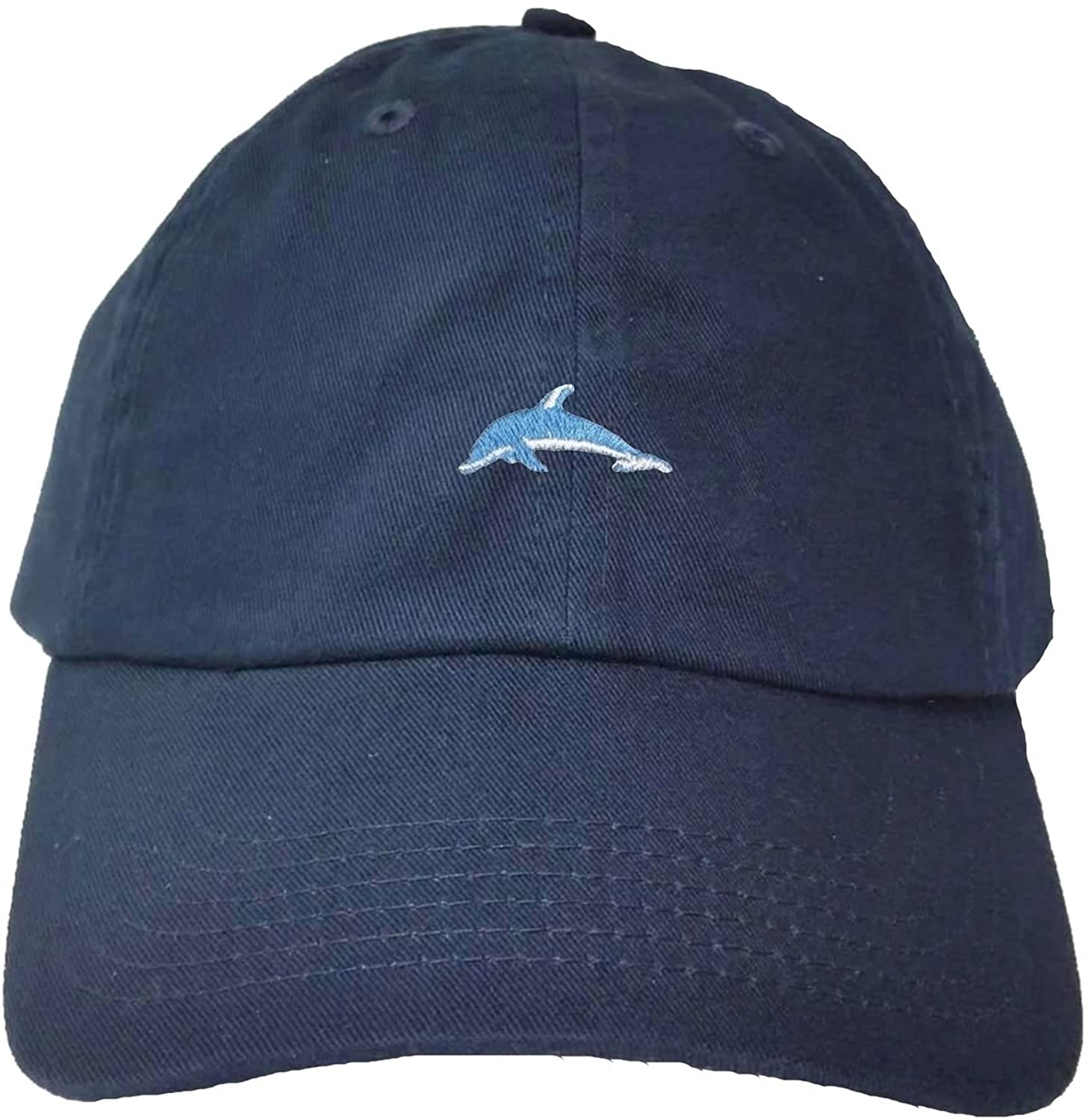 Adult Dolphin Embroidered Dad Hat