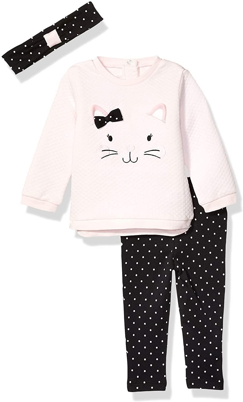 Little Me Baby Girls Sweatshirt Sets Sweater