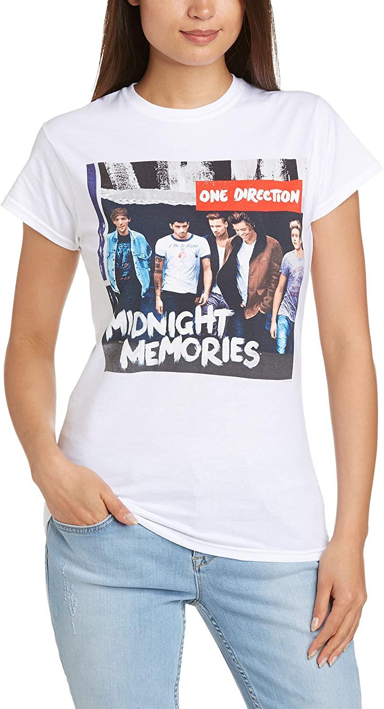 One Direction Midnight Memories Girls Jr White
