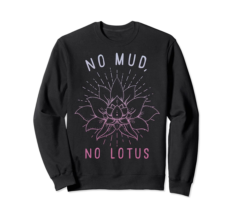 No Mud No Lotus Gradient Sweatshirt