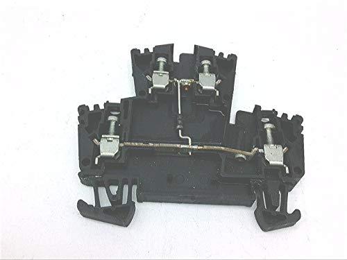 ALLEN BRADLEY 1492-JD3DF Terminal Block, CSA - 300V AC/DC, Voltage Rating UR - 600V AC/DC, IEC - 400V AC/DC, 5.1 X 69 X 55.5MM (0.20 X 2.72 X 2.19 in), Screw Connection, 1POLE, Black, Maximum Current