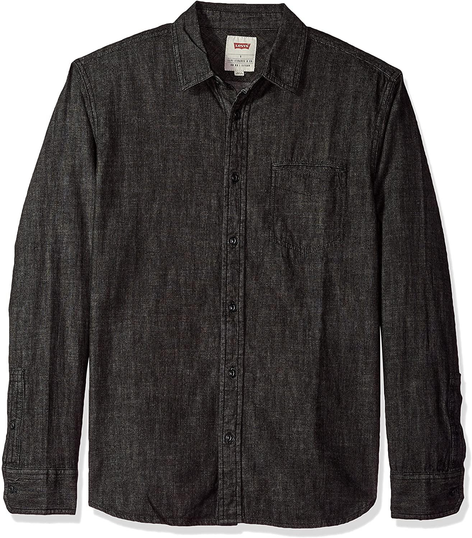 Levi's Men's Greg Classic Denim Button Down Shirt