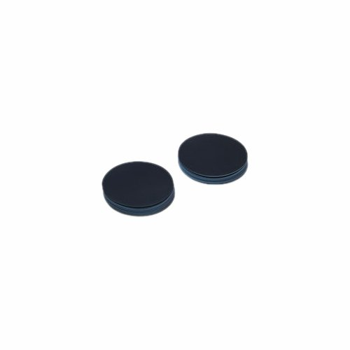 GE Bio-Sciences 7063-4702 Membrane Filter Circle, 47 mm Diameter, 0.2 µm Pore Size, Black, Cyclopore Track-Etched Polycarbonate (Pack of 100)