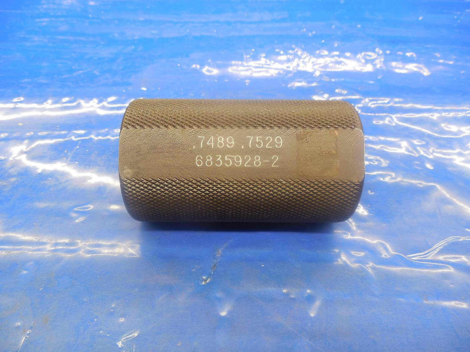 .7489 .7529 Carbide Stepped Plain BORE Ring GAGE .7500 .750 .75 3/4 19.124 mm
