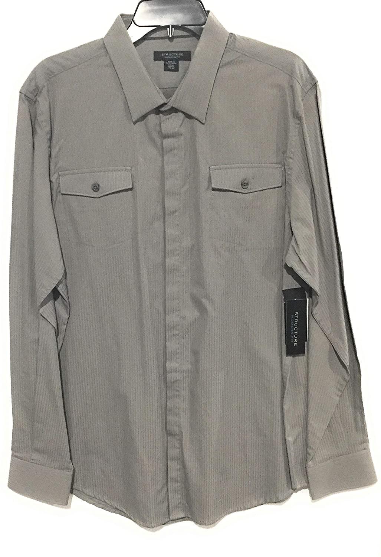 Structure Dress Shirt Modern fit Light ash Large