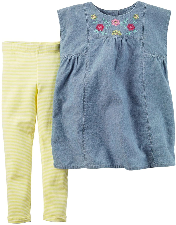 Carter's Baby Girls' 2 Piece Playwear Sets