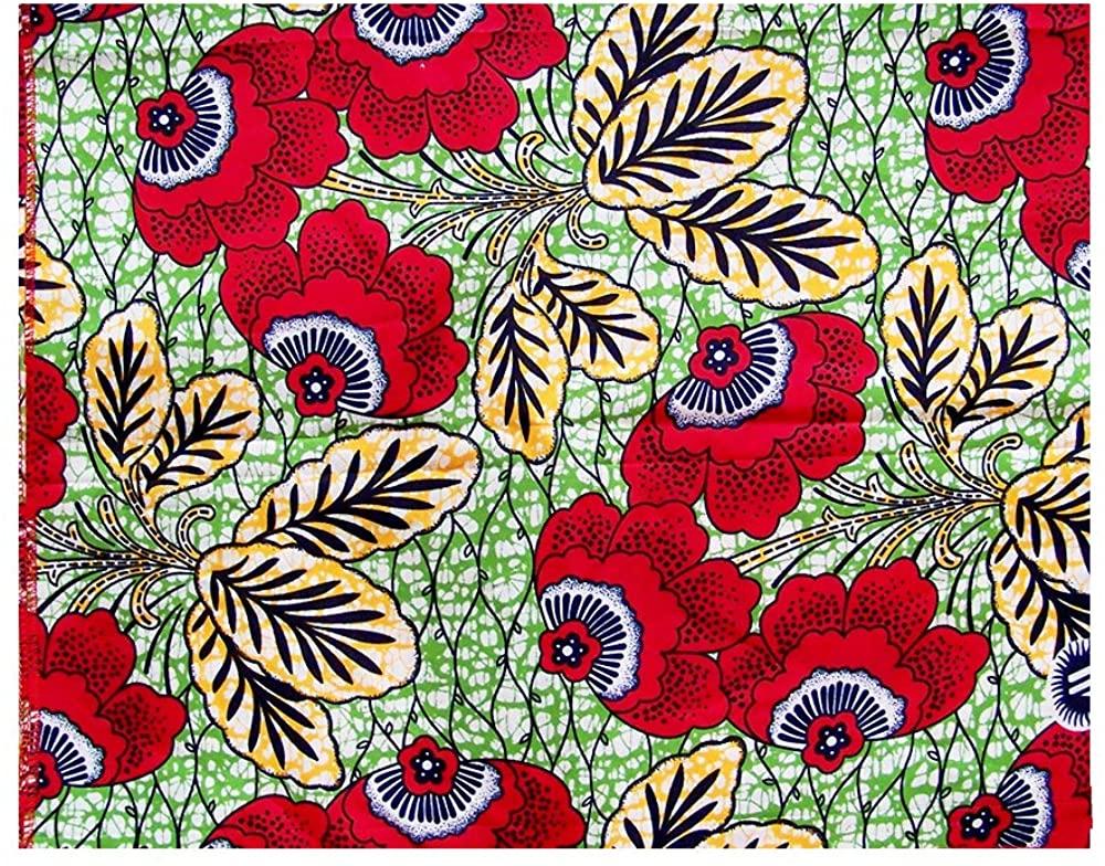 NewJourney Print Fabric African Head Wraps Head Scarf Tie for Women Soft Polyester Clothing Bazin Riche Headwear