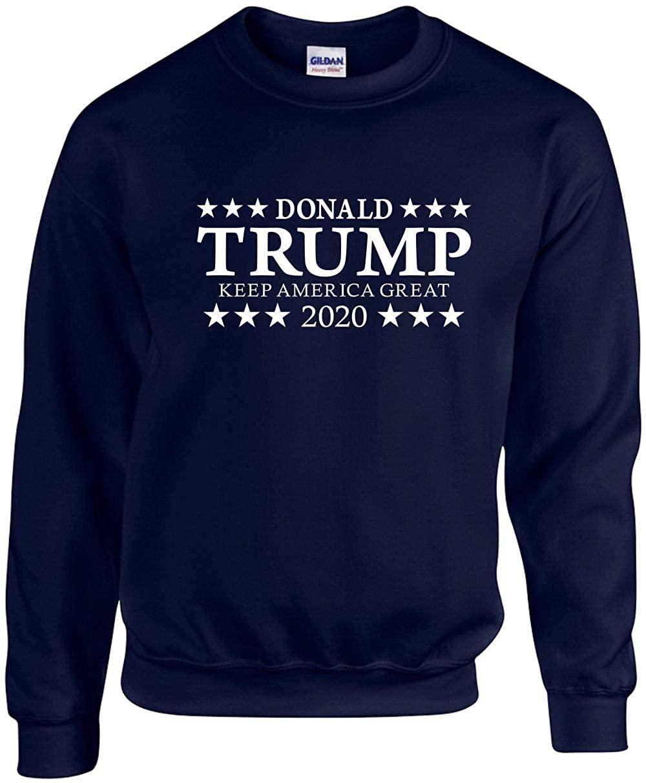 Unisex Adult Crewneck (Donald Trump Keep America Great 2020) Sweatshirt