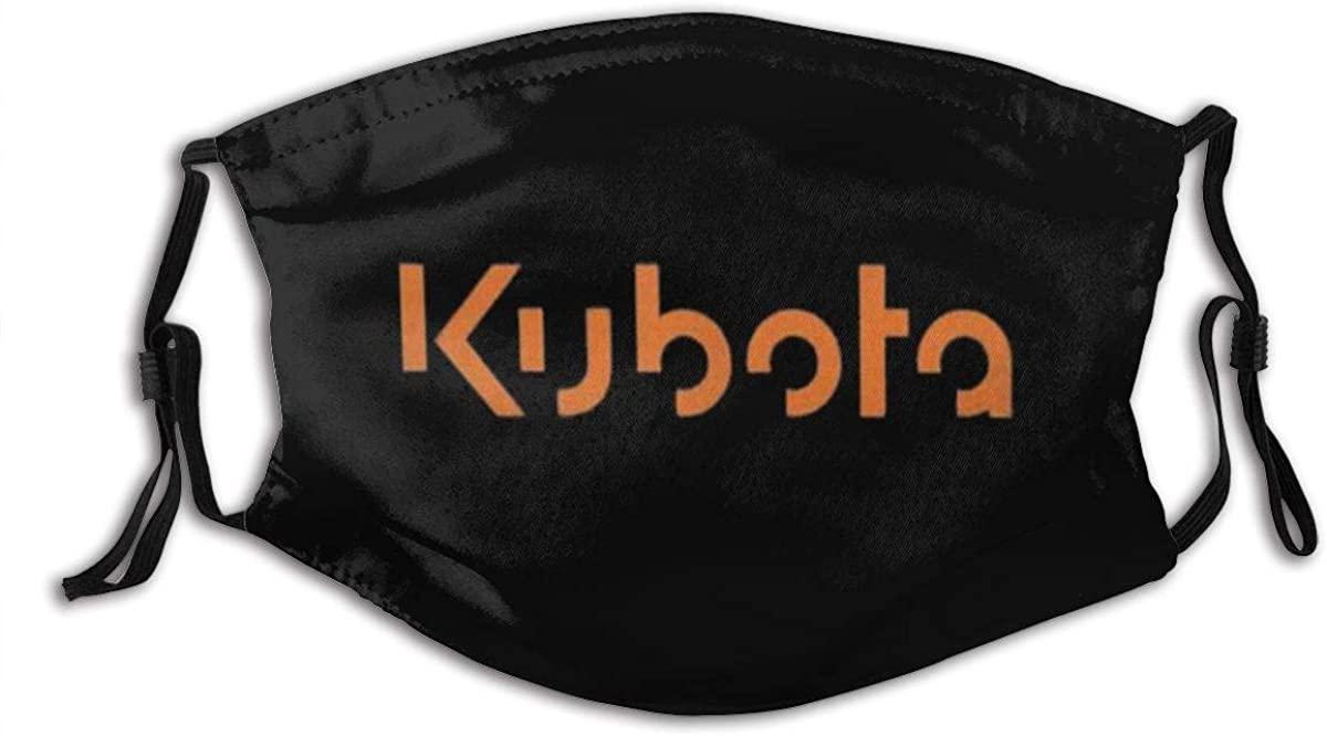 Aaronxt Kubota Unisex Face Mouth Cover Windproof Dust Protection Scarf Bandana
