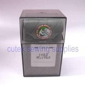 100 Organ 190LR MTX190LR Leather Sewing Needles for Pfaff Industrial Machines (SIze 24 (metric 180))