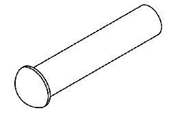 Hinge Pin for Pelton & Crane for Model OCM PCP165