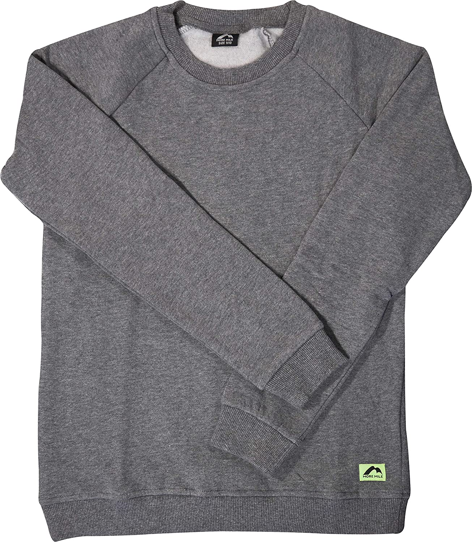More Mile Boys Fleece Sweatshirt - Grey