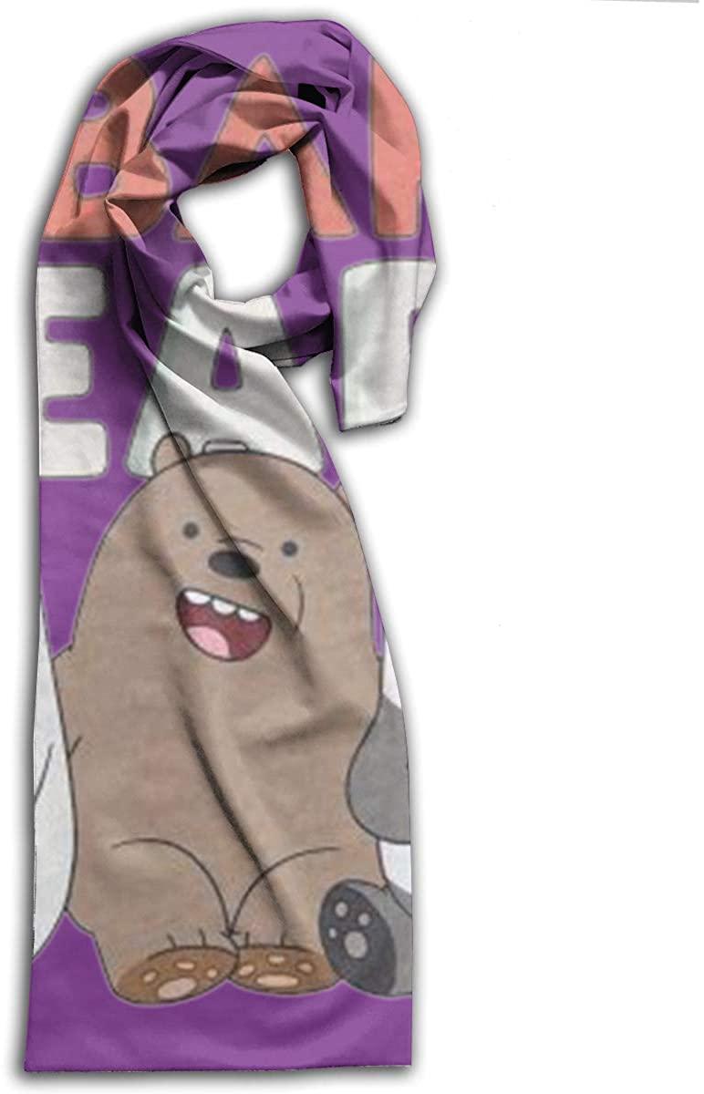 We Cute Bare Bears Adult Comfort Soft Printed Scarf