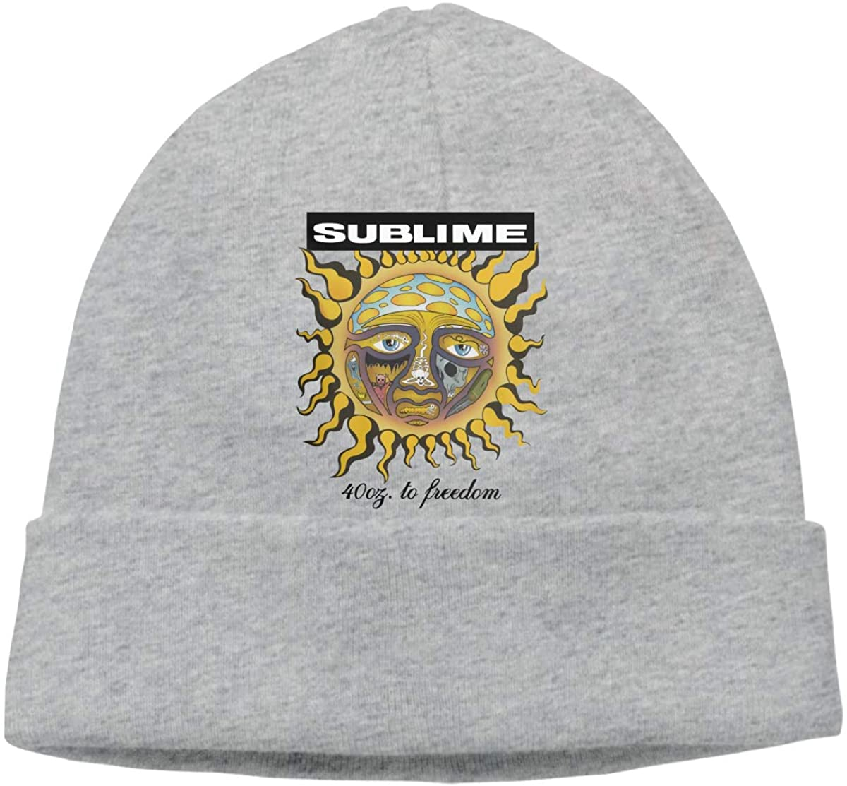 Not Sublime 40oz to Freedom Comfortable to Go Out Hedging Cap Hat Chapeau Headgear Gray