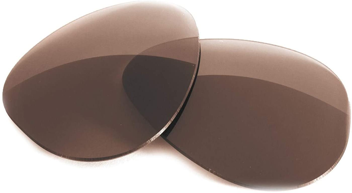 Fuse Lenses Polarized Replacement Lenses Compatible with Ray-Ban RB3025 Aviator Large (58mm)