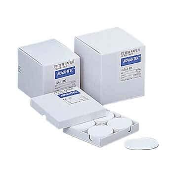 Advantec GC5025MM Grade GC50 Glass Fiber Filters; 25mm Dia; 100/box
