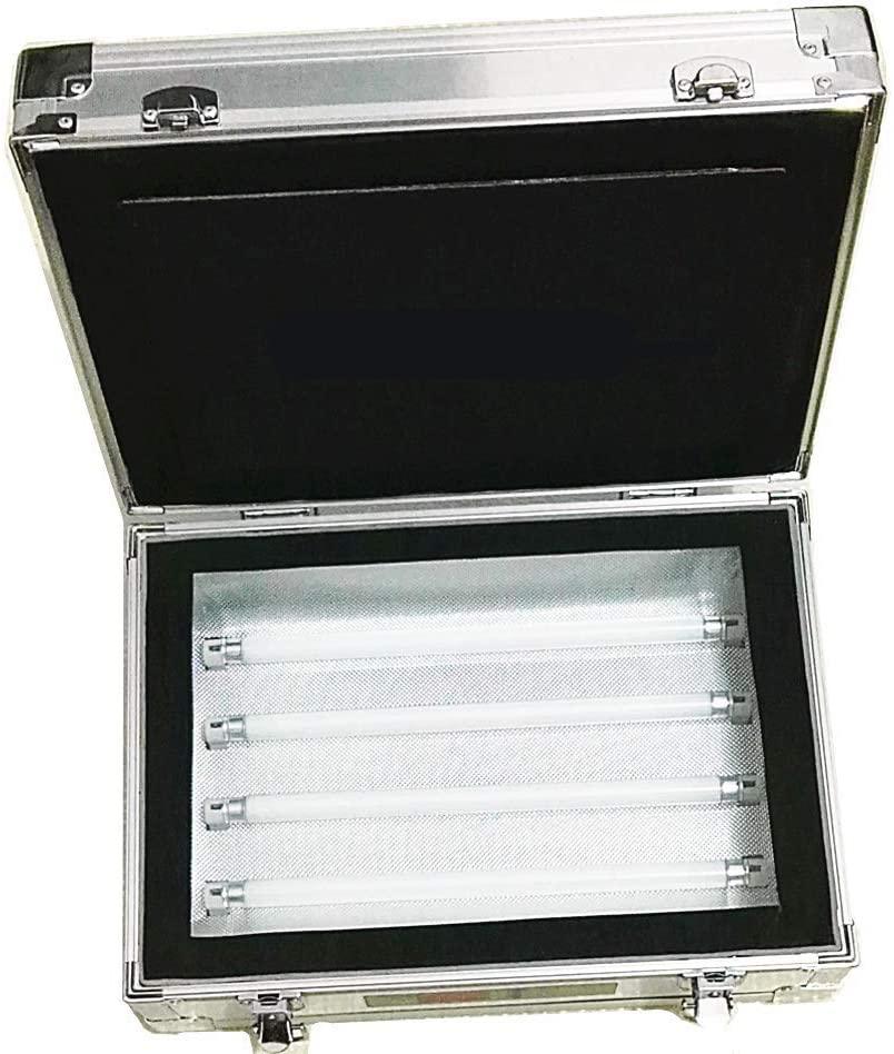 KUNHEWUHUA Single Side UV Light Exposure Machine UV Photosensitive Plate PCB Exposure Box