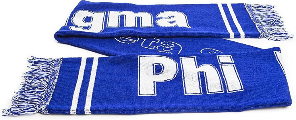 Phi Beta Sigma Fraternity Knit Scarf [Royal Blue - 65