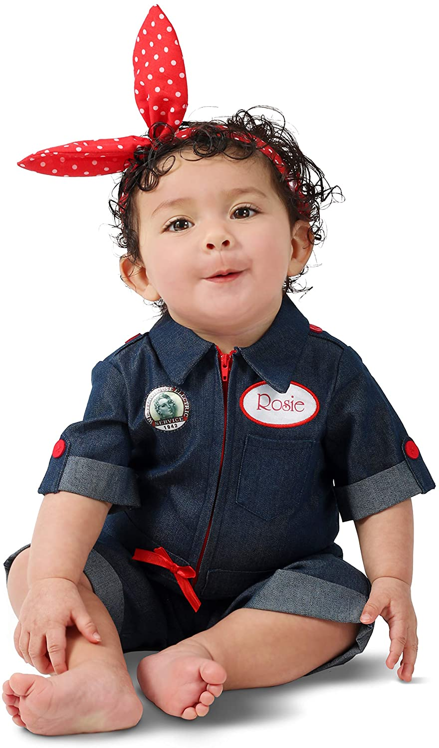 Princess Paradise Rosie The Riveter Baby/Toddler Costume