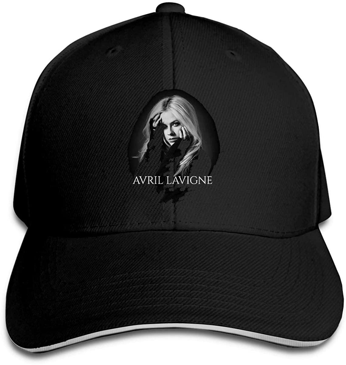 N/C Avril Lavigne Men Womens Baseball Cap Washed Cotton Adjustable Hat