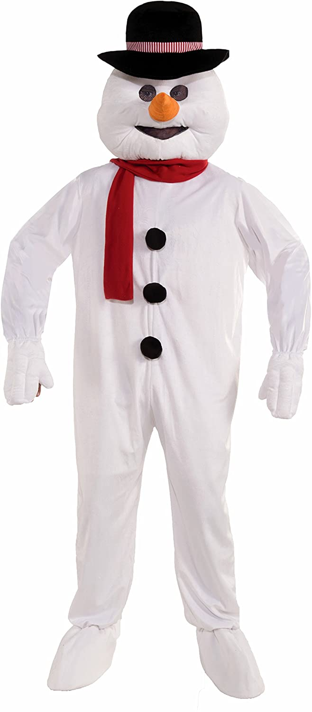 Forum Novelties Mens Plush Snowman Mascot Costume