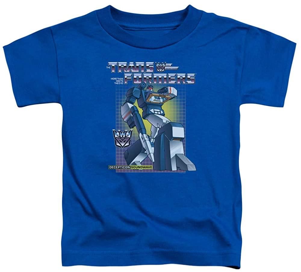 Transformers Toddler T-Shirt Soundwave Royal Tee