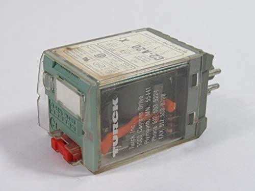 Releco C2-A20X/110120V Plug-in Relay 110/120V 50/60Hz 8-Pin