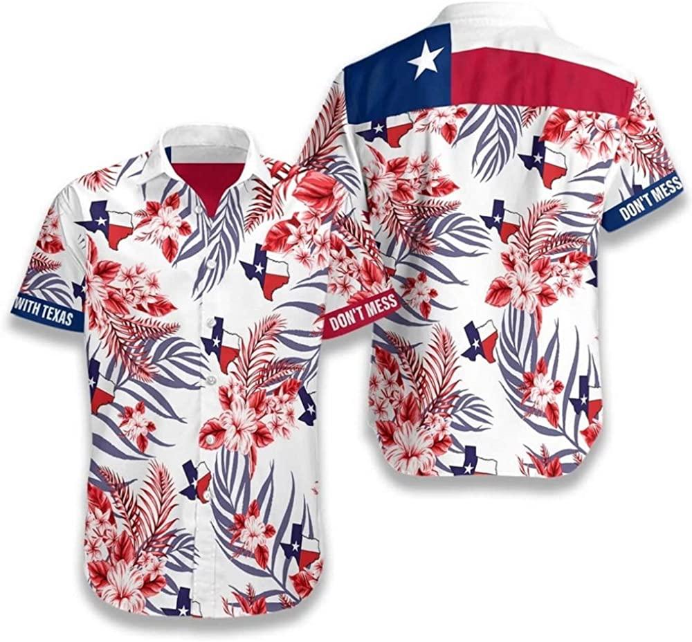 Love Texas Hawaiian Shirts