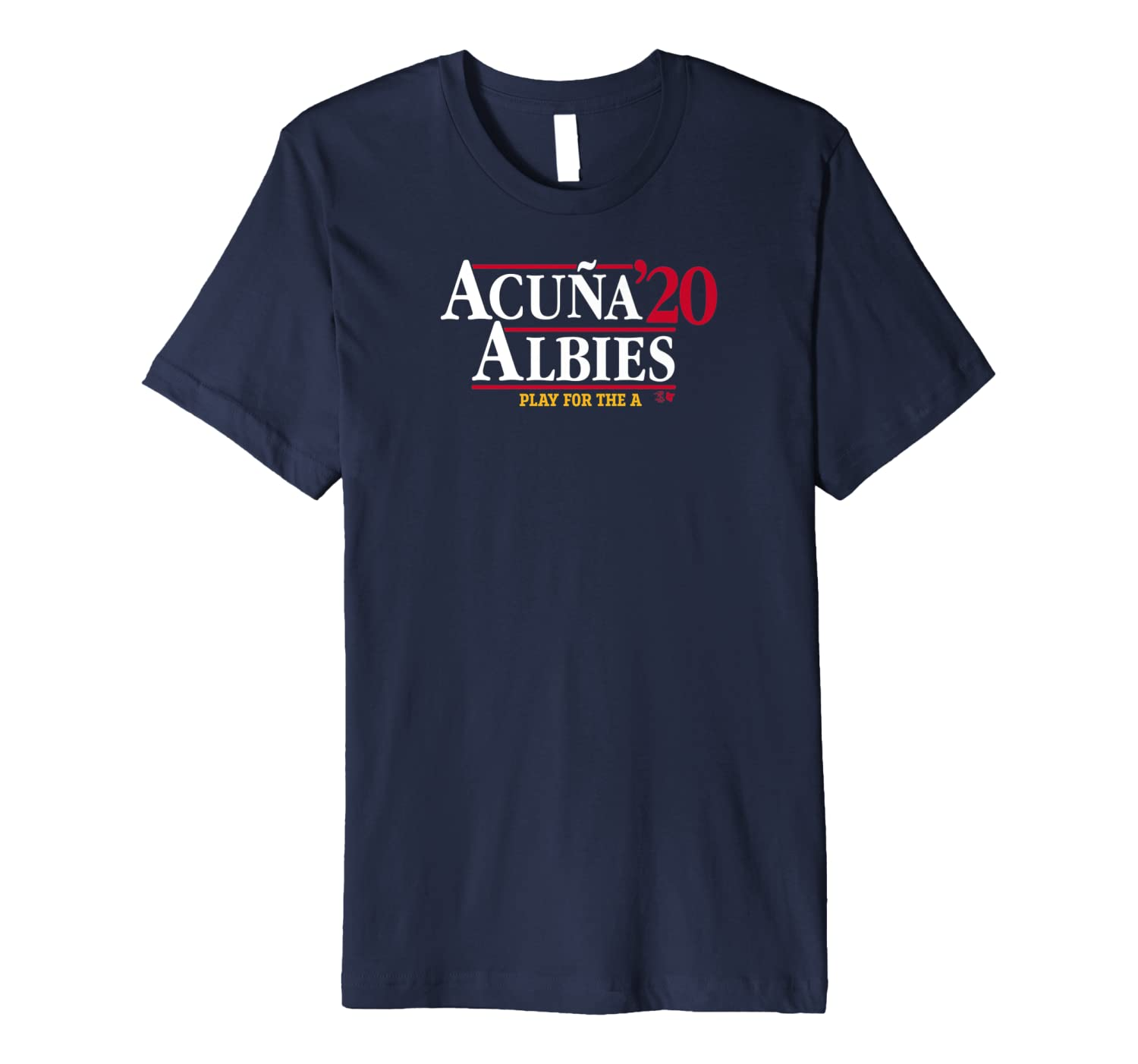Officially Licensed Acuna & Albies - Acuna Albies 2020 Premium T-Shirt