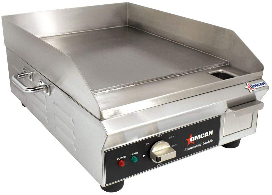 Omcan CE-CN-1800-G Stainless Steel Electric Griddle