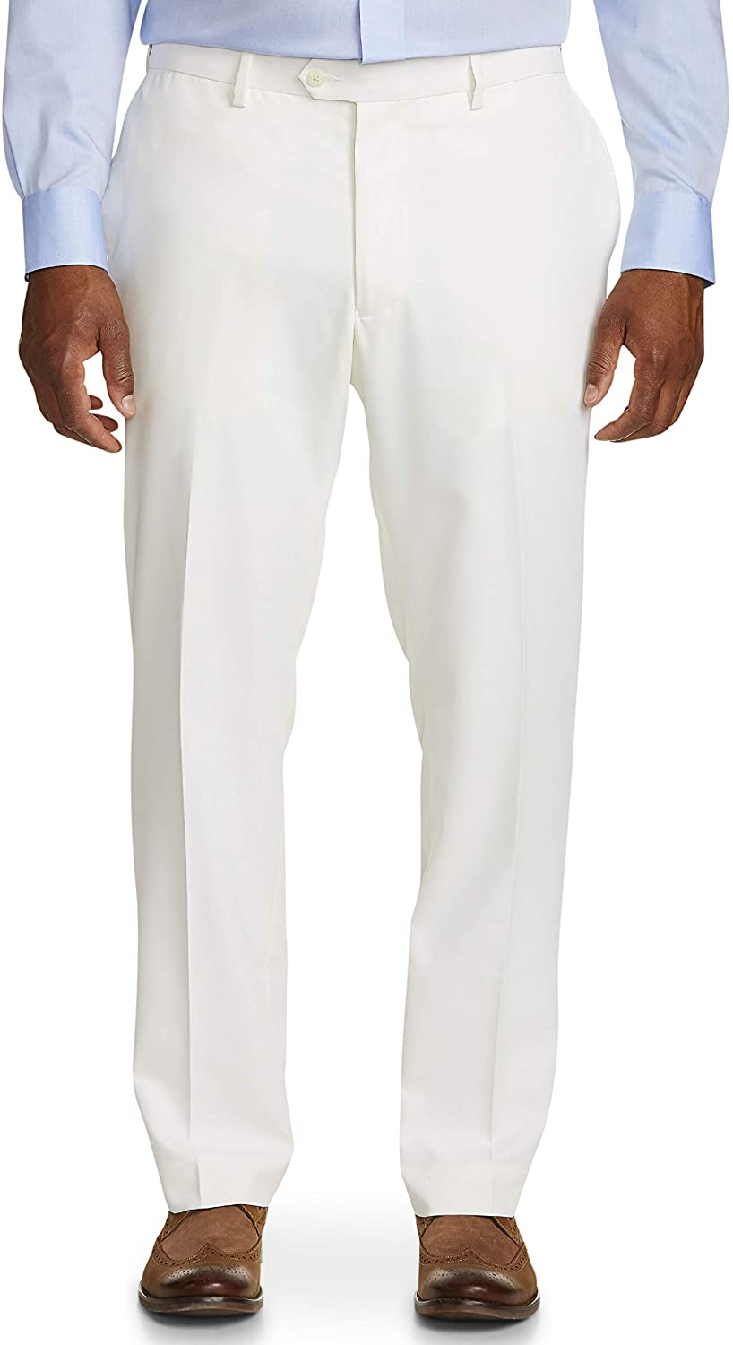 DXL Gold Series Big and Tall Waist-Relaxer Sorbtek Dress Pants