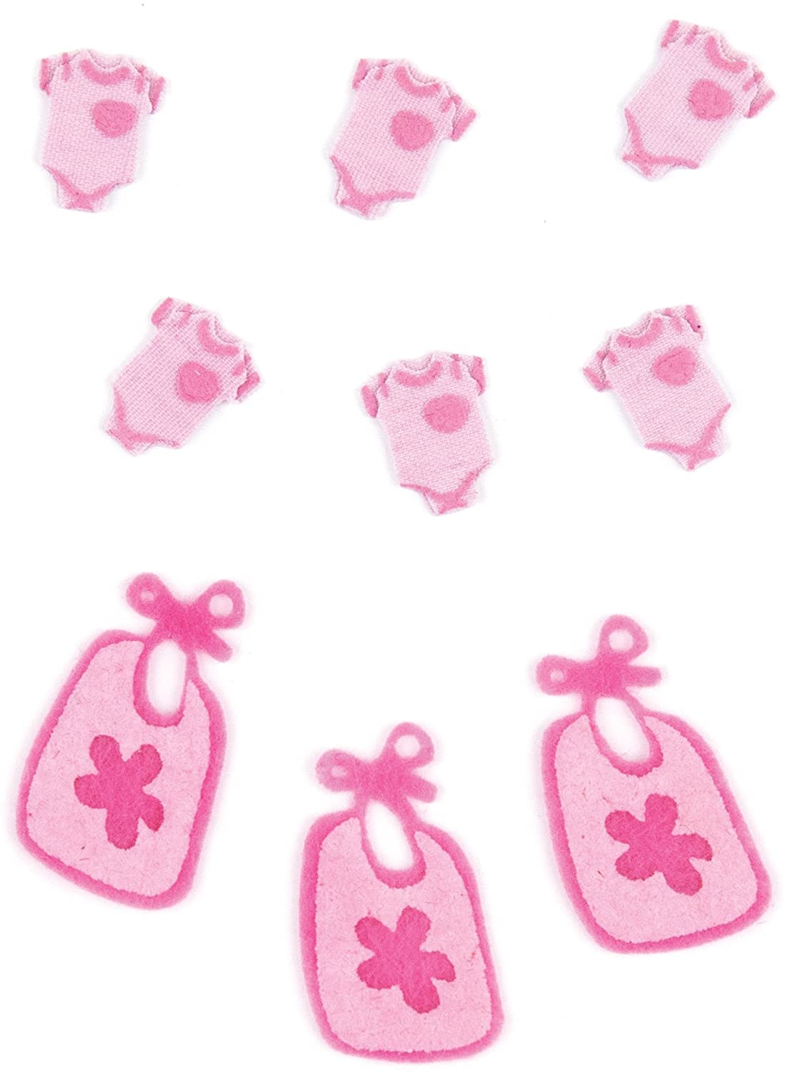 Jolee's Boutique 0015586957532 Baby Girl Pajamas and Bibs 50-00444, Other
