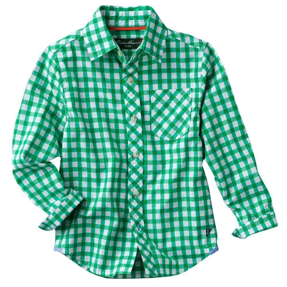 Eddie Bauer Plaid Woven Button-Down Shirt - Boys 4-7 (5)