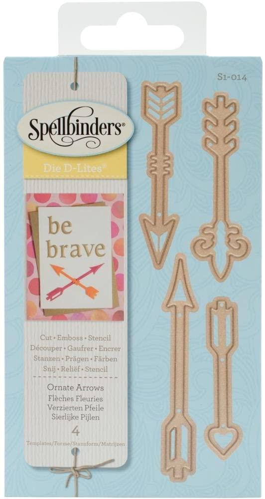 Spellbinders Shapeabilities Die D-Lites-Ornate Arrows