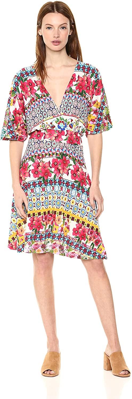 Desigual Women's Leyla Short Sleeve Dress