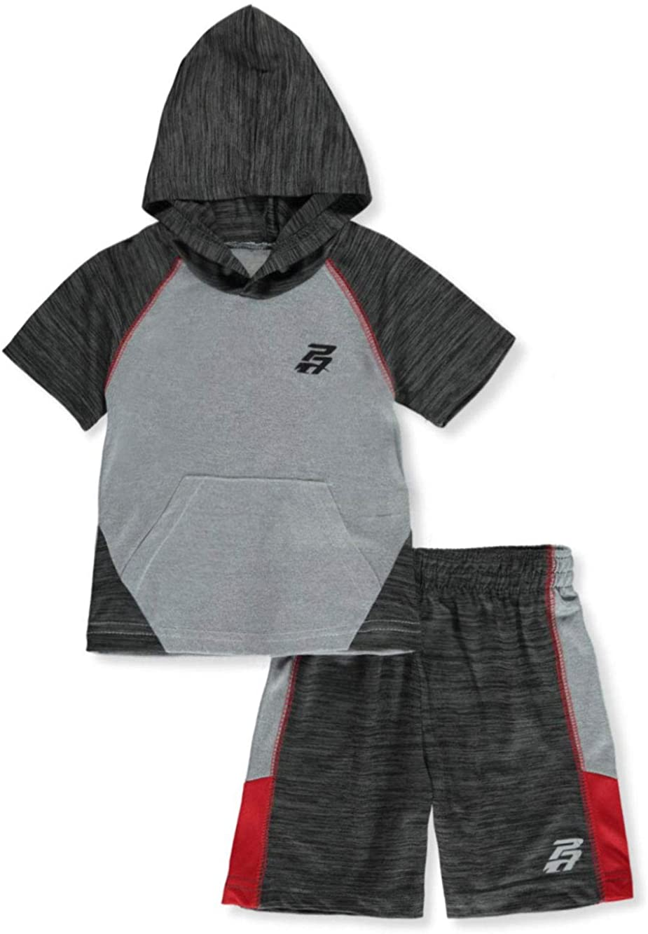 Pro Athlete Baby Boys' Hoodie 2-Piece Shorts Set Outfit