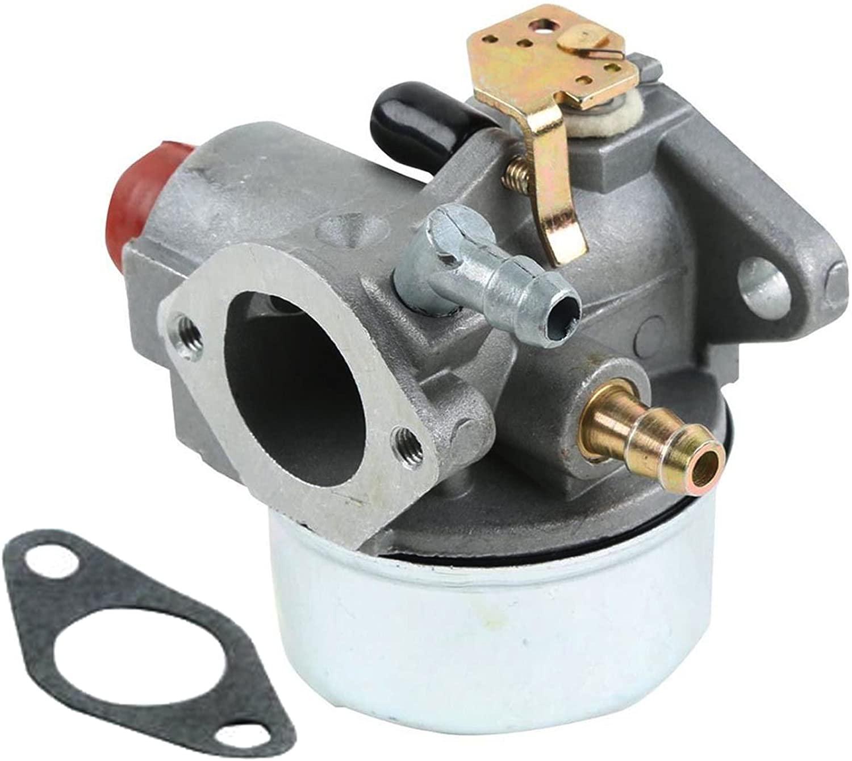 GLENPARTS Carburetor FOR Tecumseh 640025C OHH65-71707C OHH60-71167D OHH60-71146C OHH60-71105C