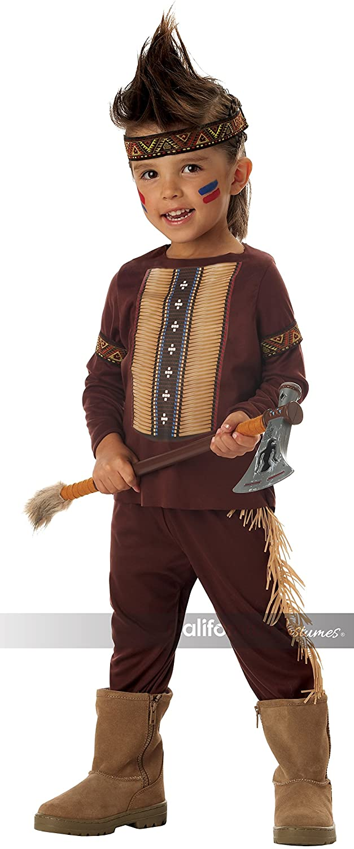 Lil' Warrior Toddler's Costume, Medium, One Color